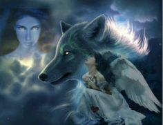 american indian and wolves images | Share