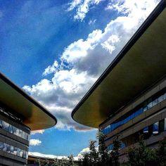 CAMPUS LUIGI EINAUDI  #love #sky #architecture #study #università #universitylife #may #cloudy #campus #pic #picoftheday #photography #turin #exam #spring #sun #sunnyday #mylife #giurisprudenza #law #ciauturin  Photo by @eleonorasassonereal