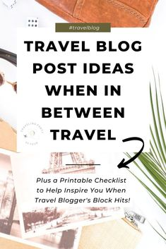 Travel Vlog, Travel Advice, Fun Travel, Travel Hacks, Travel Tips, Make Money Traveling, Traveling By Yourself, Blog Writing Tips, Writing Resources