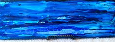 Rainy Day $45 This beautifully painted 4.25 x 13 inch tile has black felt mounted on the back.  The painting is sealed with a light coat of varnish for protection. This piece comes with a stand and is a table display piece. This piece has not been prepared to hang. Sargent Art, Black Felt, A Table, Tile, Display, Canvas, Coat, Painting, Floor Space