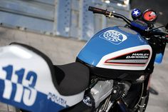 Harley Davidson police patrol - #Motorcycle