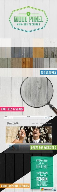 10 Wood Panel Texture Pack 14569  stock images