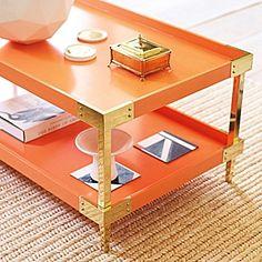 savile coffee table – white | serena & lily - so pretty but so