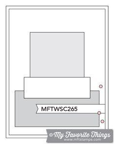 MFT Card Challenges: Wednesday Sketch Challenge - Sketch 265 - #mftstamps