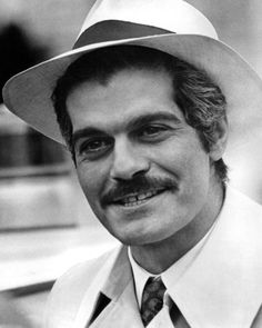People say hubby looks like Omar Sharif....yeah he does. And I like it!! Love Lawrence of Arabia, one of my favorites.