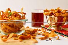 Kerala style Pakkavada, Ribbon Pakoda Recipe