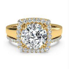 IGI Certified 0.95 Ct Round Diamond Wedding Band Set Solid 18K Yellow Gold 6 7 8 #Handmade
