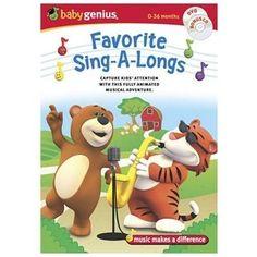 Baby Genius - Favorite Sing-a-longs (DVD, 2006, 2-Disc Set)