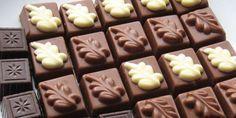 Cómo hacer bombones de chocolate rellenos - 10 pasos