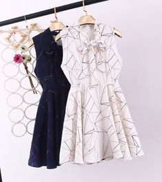 Chiffon Casual Vest One-piece Dresses