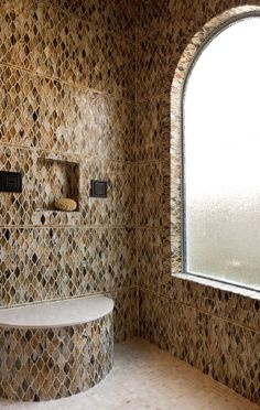 Mosaic Shower - gorgeous