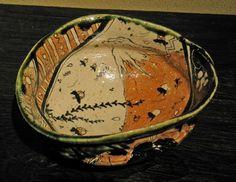 Shogo Ikeda (1976 - ) Oribe bowl