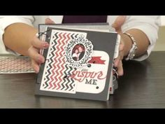 Artbooking Made Easy: Inspiration Mini Albums. Using the inspiration-themed keys of the Cricut® Artbooking cartridge this video will give you ideas on combining your most treasured memories with borders, overlays, and other complementary shapes to make inspiring artwork of your own. #CTMH