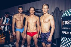 Backstage With Models at Jeffrey Fashion Cares   Out Magazine