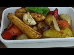 Sült zöldségek, már majdnem hús sem kell hozzá. Fontos infók a receptben! - BIG Spoon - YouTube Chicken Wings, Potatoes, Vegetables, Youtube, Food, Potato, Essen, Vegetable Recipes, Meals