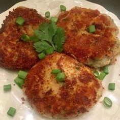 Bacon and Blue Cheese Potato Pancakes - Allrecipes.com