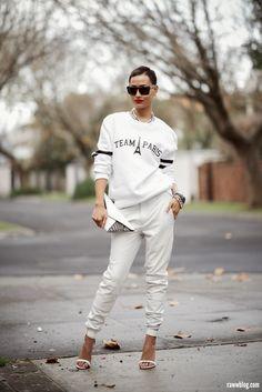 Micah Gianneli_Raww blog_Jesse Maricic photographer_Sabre_Misbhv_Kzeniya_Windsor Smith_White leather boyfriend pants_Amber Sceats_Sports lux...