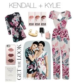 """""""Kendall + Kylie"""" by lyswbu ❤ liked on Polyvore featuring Topshop, Casetify, ZENTS, Tiffany & Co., Chanel, GetTheLook and celebritysiblings"""