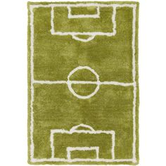 Luke Hand-Tufted Football Rectangular Rug ($300) ❤ liked on Polyvore featuring home, rugs, shag rugs, stain resistant area rugs, rectangle rugs, textured rug and rectangular area rugs