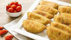 Panzarotti Recipe, Appetizers For Party, Appetizer Recipes, Pastry Recipes, Cooking Recipes, Great Recipes, Favorite Recipes, Salty Foods, Pasta