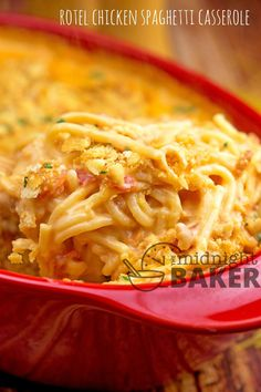 Cheesy Chicken Spaghetti Recipe With Rotel.Creamy Cheesy Chicken Spaghetti The Country Cook. CrockPot Cheesy Chicken Spaghetti With Velveeta # . Let's Dish Easy Meal Plan Week 15 Let's Dish Recipes. Home and Family Chicken Spaghetti Velveeta, Chicken Spaghetti Casserole, Cheesy Chicken Casserole, Chicken Spaghetti Recipes, Meatball Casserole, Pasta Spaghetti, Casserole Dishes, Casserole Recipes, Easy Pork Chop Recipes