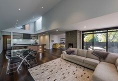 Open Plan Living Luxury Home Bespoke Architecture