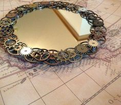 steampunk mirror