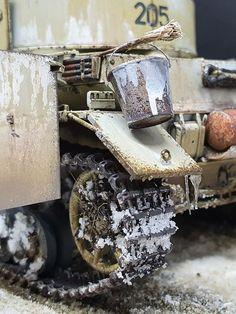 Panzer IV Ausf. G - Winterwash - Bordermodel  1/35 Scale Models, Tanks, Military, Kit, Winter, Crafts, Model Building, Shelled, Military Tank