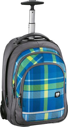 All Out Bolton Trolley Rucksack Woody Blue