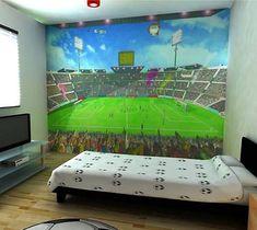 Little Boys Bedroom Soccer Field