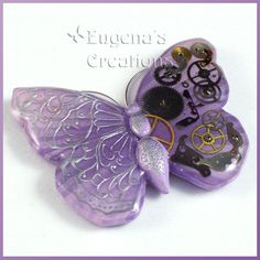 steampunk butterfly | Steampunk Butterfly, Lilac | Flickr - Photo Sharing!