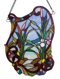 Shop Fine Art Lighting Ltd. Tiffany Window Panel at Lowe's Canada. Find our selection of stained glass at the lowest price guaranteed with price match. Antique Stained Glass Windows, Stained Glass Church, Stained Glass Flowers, Stained Glass Panels, Stained Glass Art, Leaded Glass, Stained Glass Suncatchers, Stained Glass Designs, Stained Glass Projects