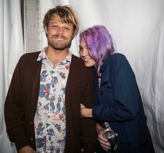 Dane Reynolds and his lady say everyday is Hula Friday. His Quiksilver style agrees. #hula #quiksilver #redcarpet