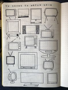 TV shows to watch #bulletjournal