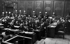After the war, the people who were responsible for the crimes committed during the Holocaust were put on trial. The trials took place in Nuremberg, Germany where judges were from the Allied powers