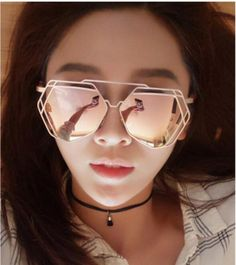 bc1c7c6450c hexagon Sunglasses men Luxury Brand Lady Glasses UV400 Alloy v sunglasses  Mirror Vintage Fashion unusual glasses