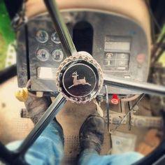 tractor John Deere has my heart. Antique Tractors, Old Tractors, John Deere Tractors, Country Life, Country Girls, Country Music, Country Living, Country Roads, New Holland