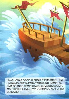 A história biblica de Jonas