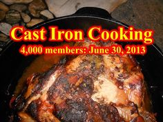 Cast Iron Cooking Group on Facebook