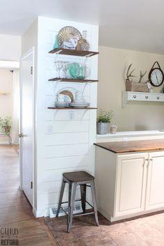 Kitchen Shelf Stylin