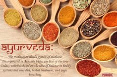 """‪#‎Ayur‬"" means ‪#‎life‬, life span, and ""‪#‎Veda‬"" means ‪#‎science‬. So ‪#‎Ayurveda‬ is the science of life, vitality and longevity."