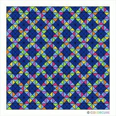 #colorcure #patterns #quilt #app #colorful #mobileapp #quilting #modern #modernart #colorfy