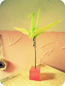 Tuto: réaliser une grue en origami