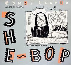 """CYNDI LAUPER - SHE-BOP 12"""" MAXI-SINGLE"""