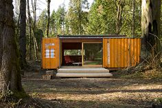 Off grid, sustainable housing made from upcycling shipping containers! How cool is this?!