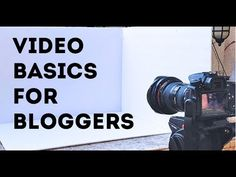 You can conquer video! Learn the basics of making simple videos to enhance your blog and expand your social media reach! Resources: Tripod arm: http://bhpho....