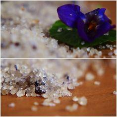 violkový cukr, fialkový cukr