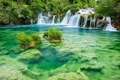 Krka wonders by Bogdan D Photographer on Krka National Park, National Parks, Flora And Fauna, Great Places, Habitats, Waterfall, Places To Visit, Plants, Photography