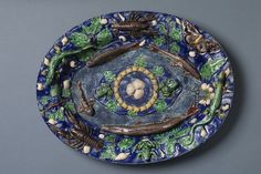 Dish   Palissy, Bernard   V Search the Collections