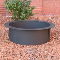 Keep the fire contained in your DIY fire pit with the help of a Sunnydaze Decor in-ground fire pit ring from Serenity Health & Home Decor. Fire Pit Tools, Wood Fire Pit, Steel Fire Pit, Wood Burning Fire Pit, Diy Fire Pit, Fire Pit Backyard, Rock Fire Pits, Fire Pit With Grill, Best Fire Pit
